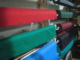 Pool table refelting, cloth colors, Chicago Illinois