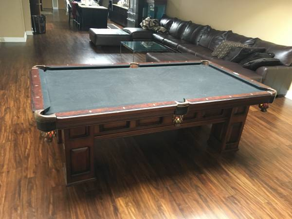 Solo 174 Evanston American Heritage Britton Pool Table 88
