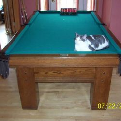 8 Foot Brunswick Snooker Pool Table