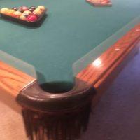 Olhausen Oak Wood Pool Table
