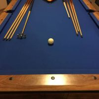 8ft pool Table With Ping Pong Topper