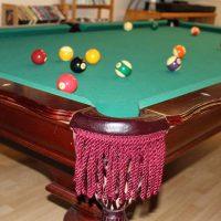 Pool Table Regulation Leather Pockets