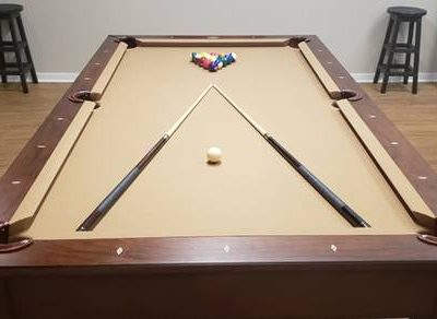 Pool Table with Conversion Top