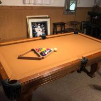 Moving-Selling Nice Pool Table
