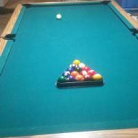 8 Ft Regulation Pool Table