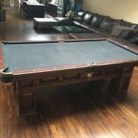 American Heritage Britton Pool Table