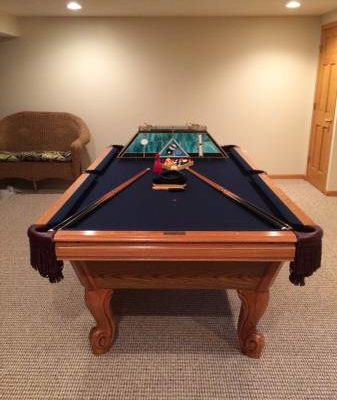 AMF Pool Master 8' Pool Table