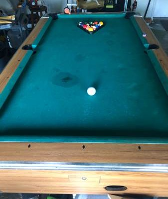 Bar Pool Table