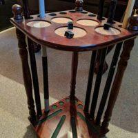 Wood Pool Table