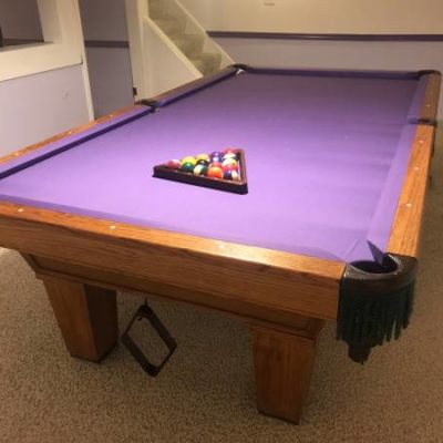 Minnesota Fats 9-foot Pocket Pool Table
