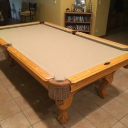 8' AMF Playmaster Pool Table (SOLD)
