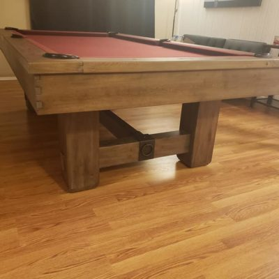 Brunswick Merrimack 8' Table - 6 Months Old, Looking To Sell