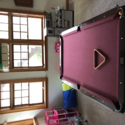 8 FT KASSON POOL TABLE